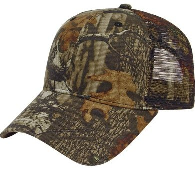 Mossy Oak Break Up Infinity Mesh Back Camo Hat Image