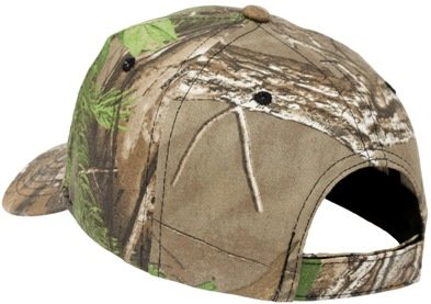 RealTree Xtra Green Camo Hat Back View Image