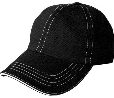 Accent Sandwich Black/White Cap Image