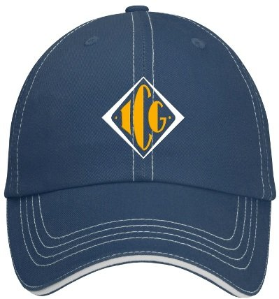 Accent Sandwich Navy/White Cap Image