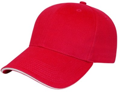 Red/White Classy Sandwich Hat Image