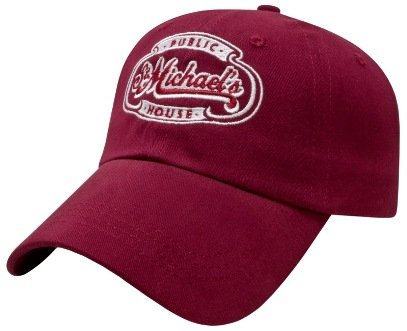 Maroon Full Value Embroidered Hat Image
