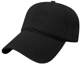Black Relaxed Hat Image