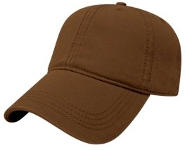Brown Relaxed Golf Hat Image