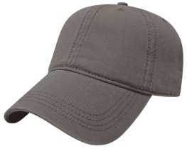 Charcoal Relaxed Golf Hat Image