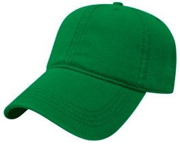 Kelly Green Relaxed Golf Hat Image