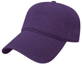Purple Relaxed Hat Image