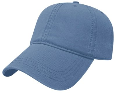 SkyBlue Relaxed Golf Hat Image