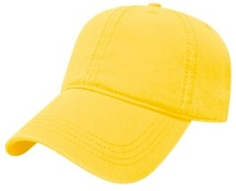 Yellow Relaxed Golf Hat Image