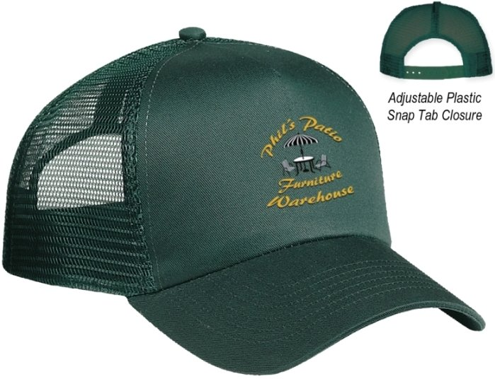 Promotional Cap-5 Panel Mesh Back