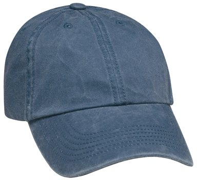 Navy Blue 6 Panel Soft Washed Hat Colors Image