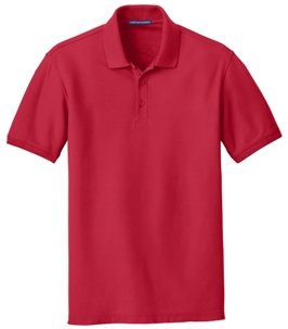 Rich Red Polo Shirt