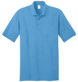 Aquatic Blue Polo Shirt