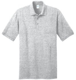 Ash Grey Polo Shirt