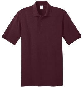 Athletic Maroon Polo Shirt