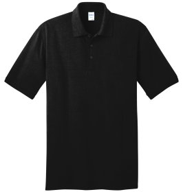 Jet Black Polo Shirt