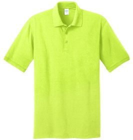 Safety Green Polo Shirt
