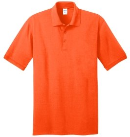 Safety Orange Polo Shirt