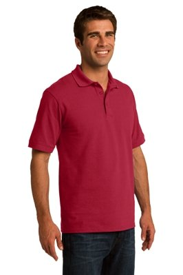 Mens Polo Shirt Model Front