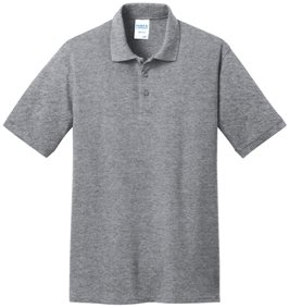 Athletic Heather Polo Shirt