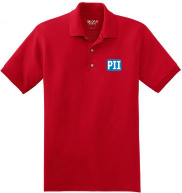 Gildan Dry Blend Red Company Polo Shirt 8800