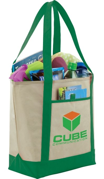 Green Cheap Tote