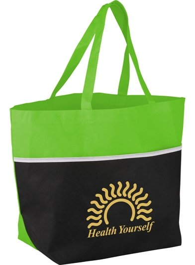 Lime Cheap Tote