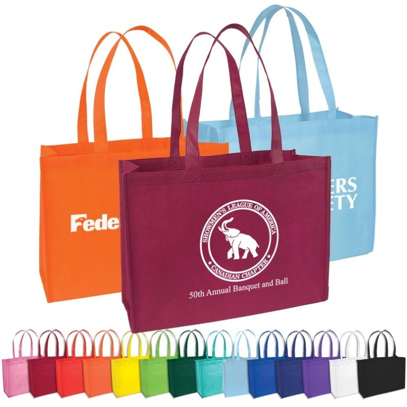 Tradeshow Cheap Tote Colors