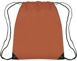 Medium Drawstring Backpack Texas Orange Color Image