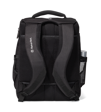 Travis & Wells Denali Laptop Backpack Straps Backside Image