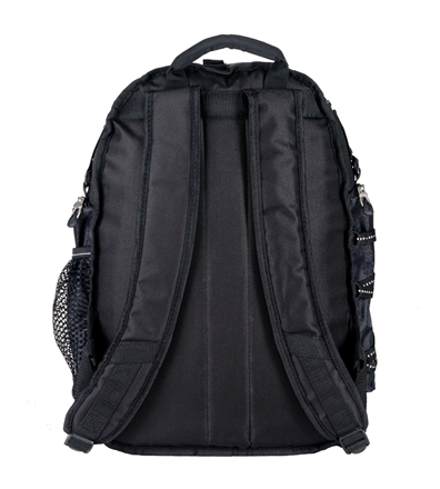 Vertex Trek Laptop Backpack Straps and Backside Image