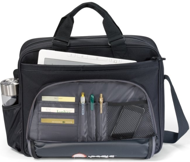 Central Command Laptop Bag Front Features Image