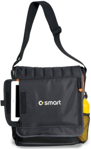 Impact Vertical Laptop Bags Front Features Image