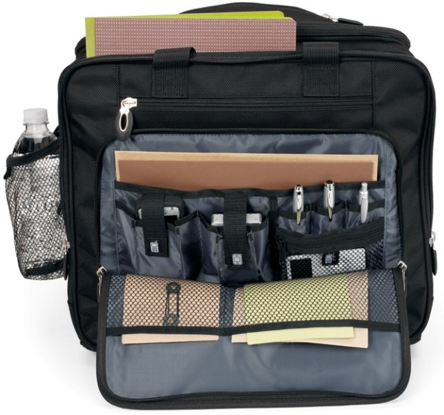 Lim Professional Wheeled Laptop Bag Features
