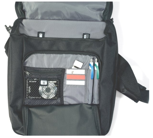 Netbook Vertical Laptop Bags Organizer Features Image