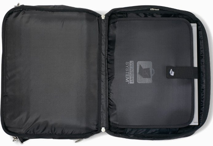 Travis && Wells Executive Laptop Bag Checkpoint Friendly Features Image