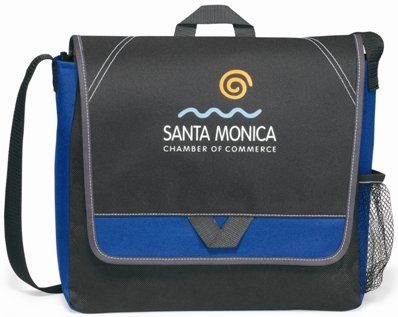 Blue Elation Messenger Bag Image