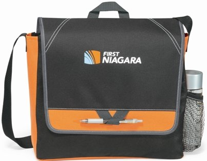 Orange Elation Messenger Bag Image