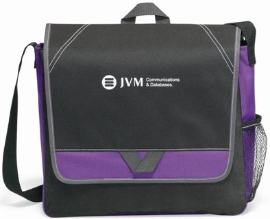 Purple Elation Messenger Bag Image