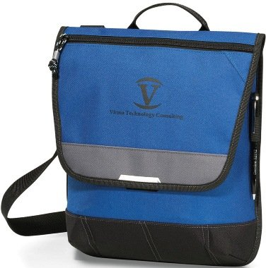 Blue Omni Messenger Bag Image