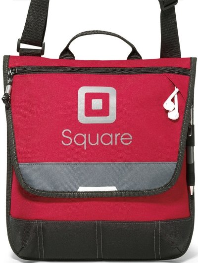 Red Omni Messenger Bag Image