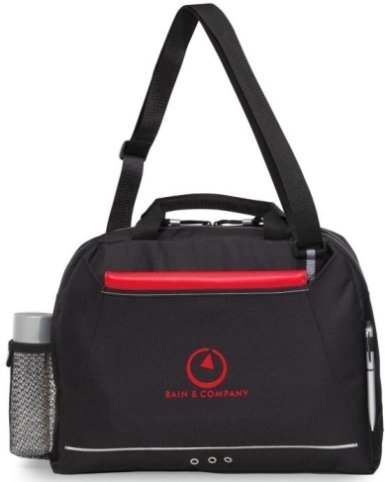 Black Parkway Messenger Bag Image
