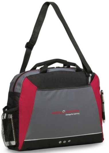 Red Parkway Messenger Bag Image