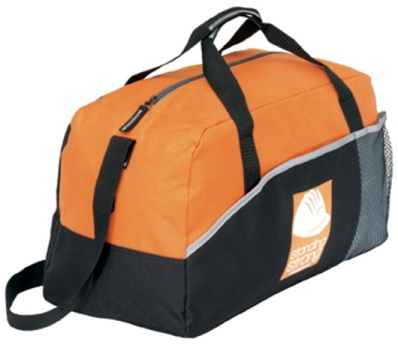 Promotional Items Lynx Sports Bags Tangerine Orange Colors Image