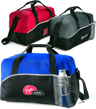Promotional Items Lynx Sports Bags Red, Gray, Royal Colors Image