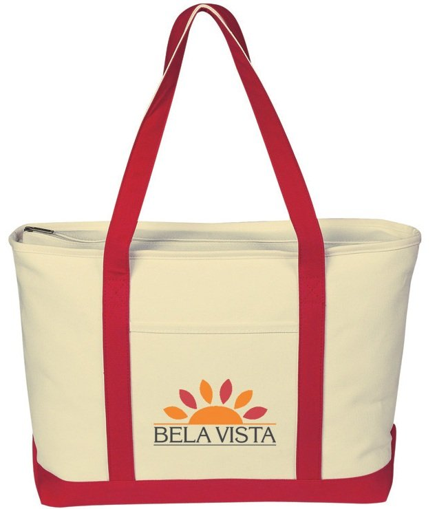 Tote Bag-Canvas Boat