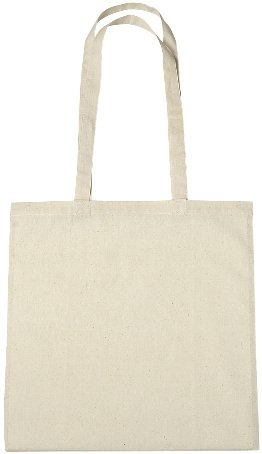 Cotton Promotional Tote Bag Natural Color Image