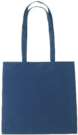 Cotton Promotional Tote Bag Navy Color Image