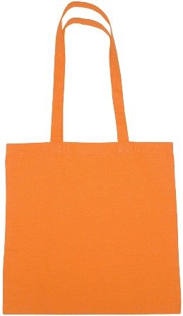 Cotton Promotional Tote Bag Orange Color Image