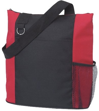 Fun Promotional Tote Bag Red Color Image